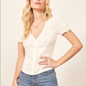 BRAND NEW Allegra top from reformation